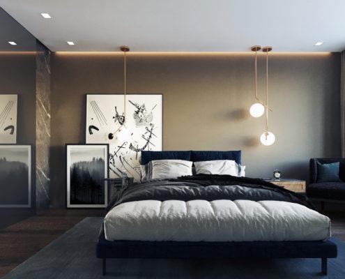 разработка проекта спальни