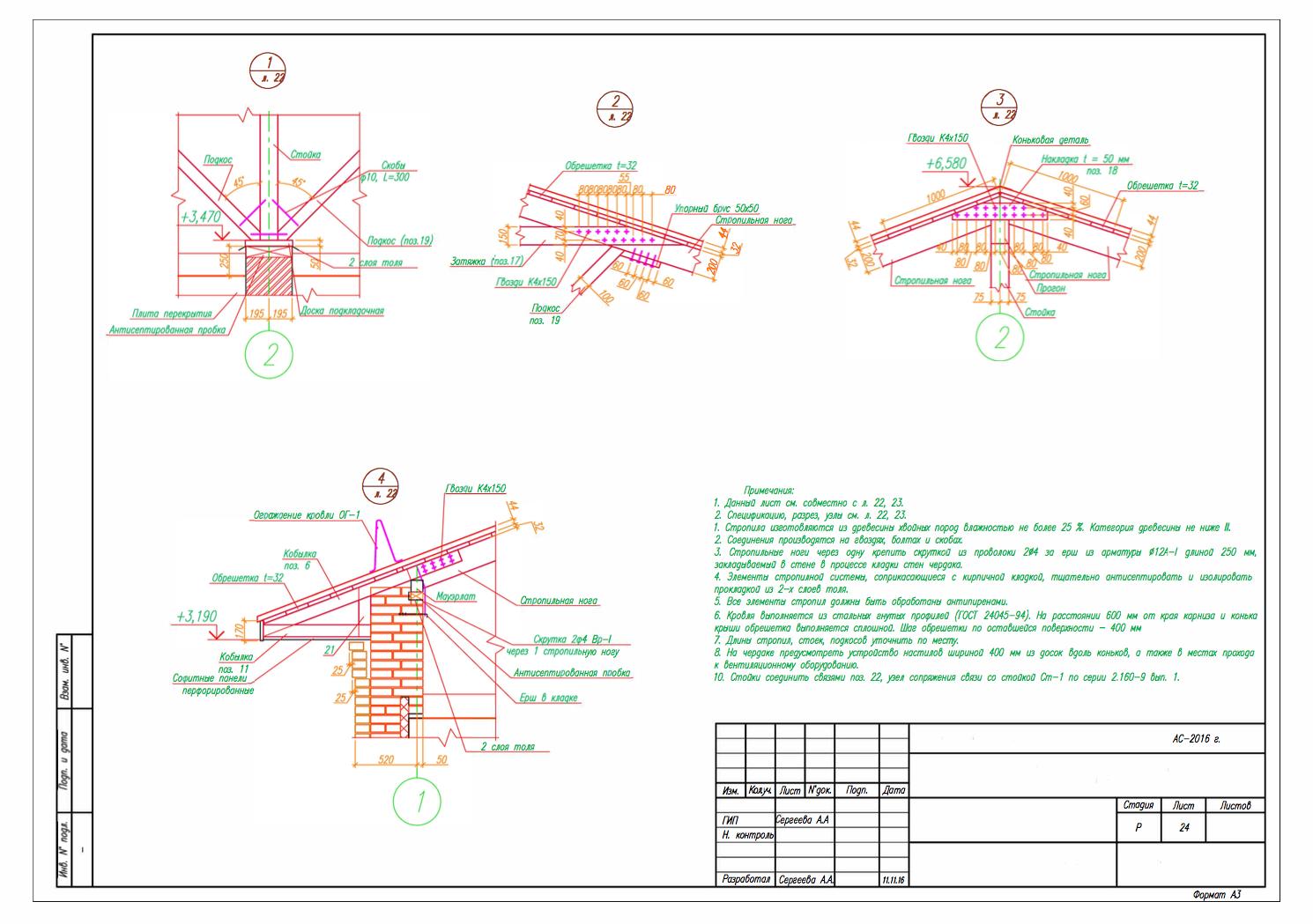 проектирование домов схема