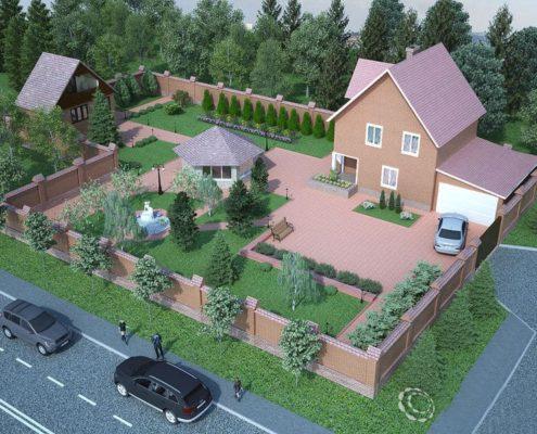 проектирование загородного участка